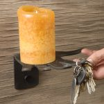 Decorative Metal Shelves- Candle Handee Shelf
