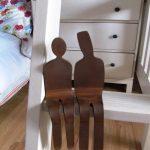 couple on a shelf interior decor