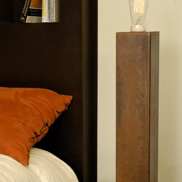 Bedside Industrial Table Lamp