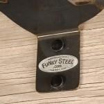 Funky Logo Decorative Metal Shelf