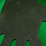 Tux Black Detail Decorative Metal Handee Shelf