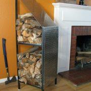 American Furniture Albuquerque - Modern Firewood Storage Rack