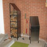 Funky Wood Firewood Storage Racks