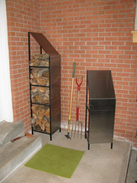 Funky Wood Firewood Storage Racks