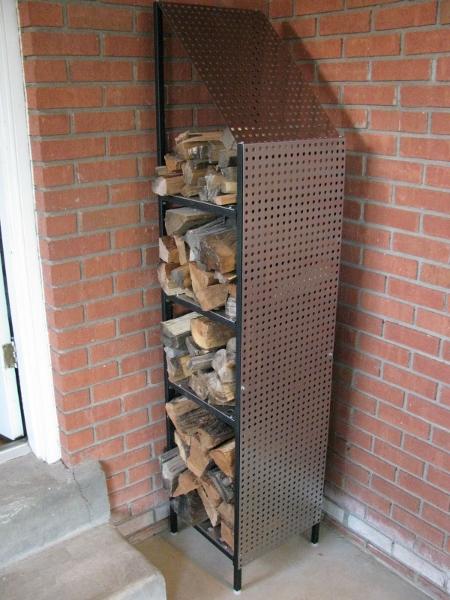 Firewood Storage Racks Funky Wood