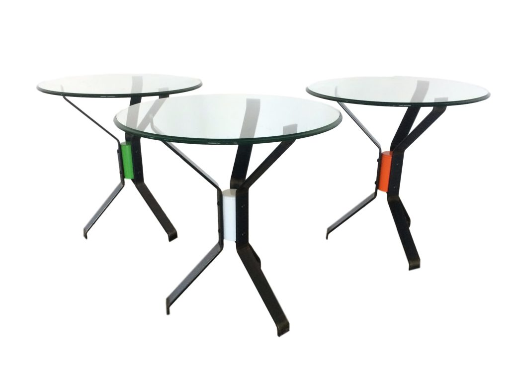 menage table collection funky steel three