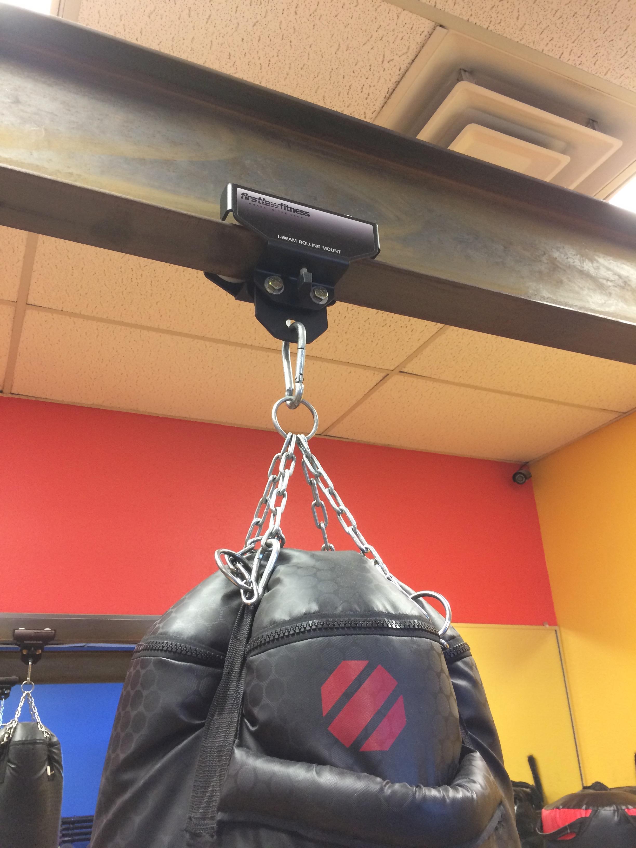 Phat Rack Punching Bag Frame Funky Steel
